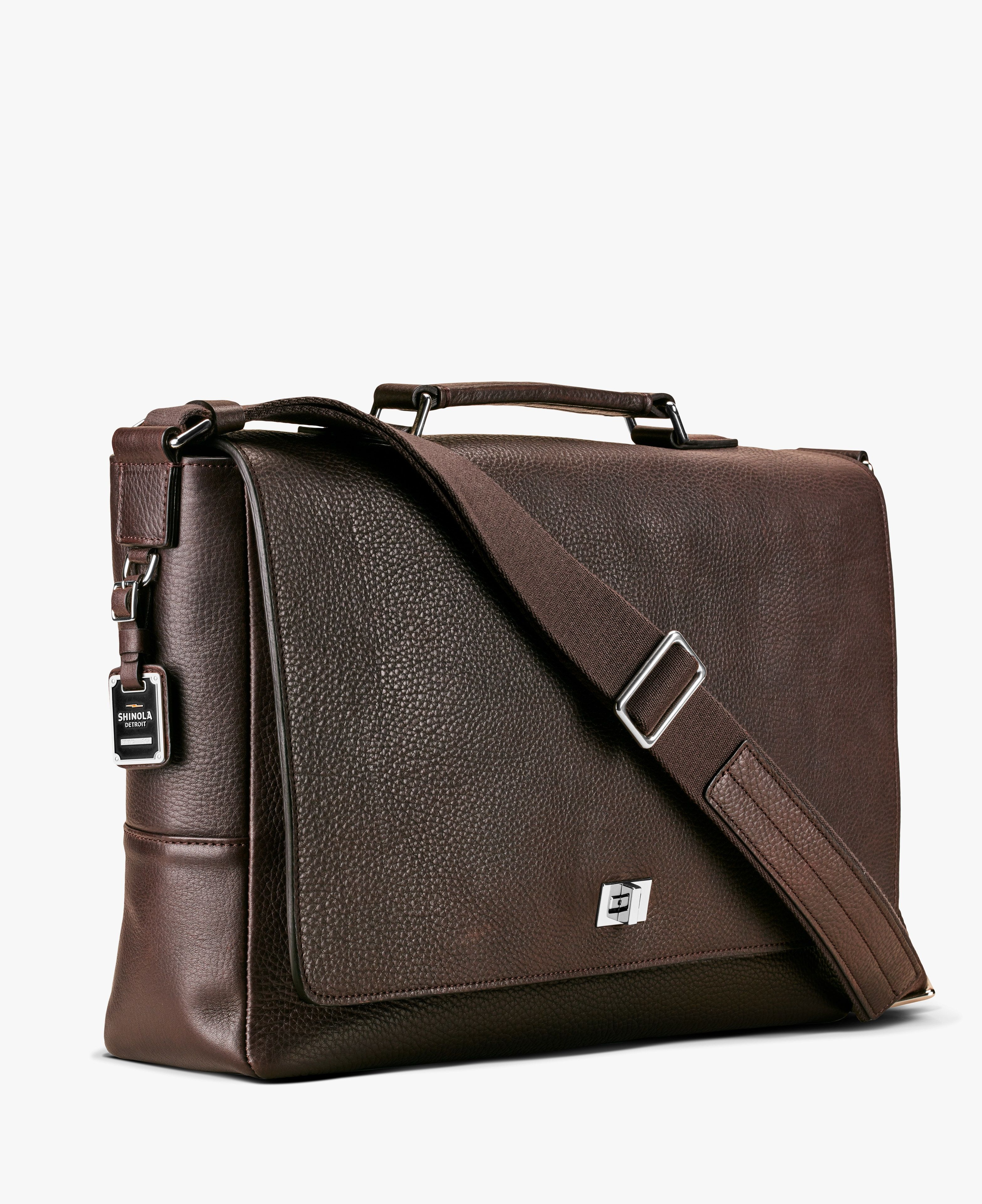 17bb56ecdfe9c Men s Leather Bag - Messenger Brief