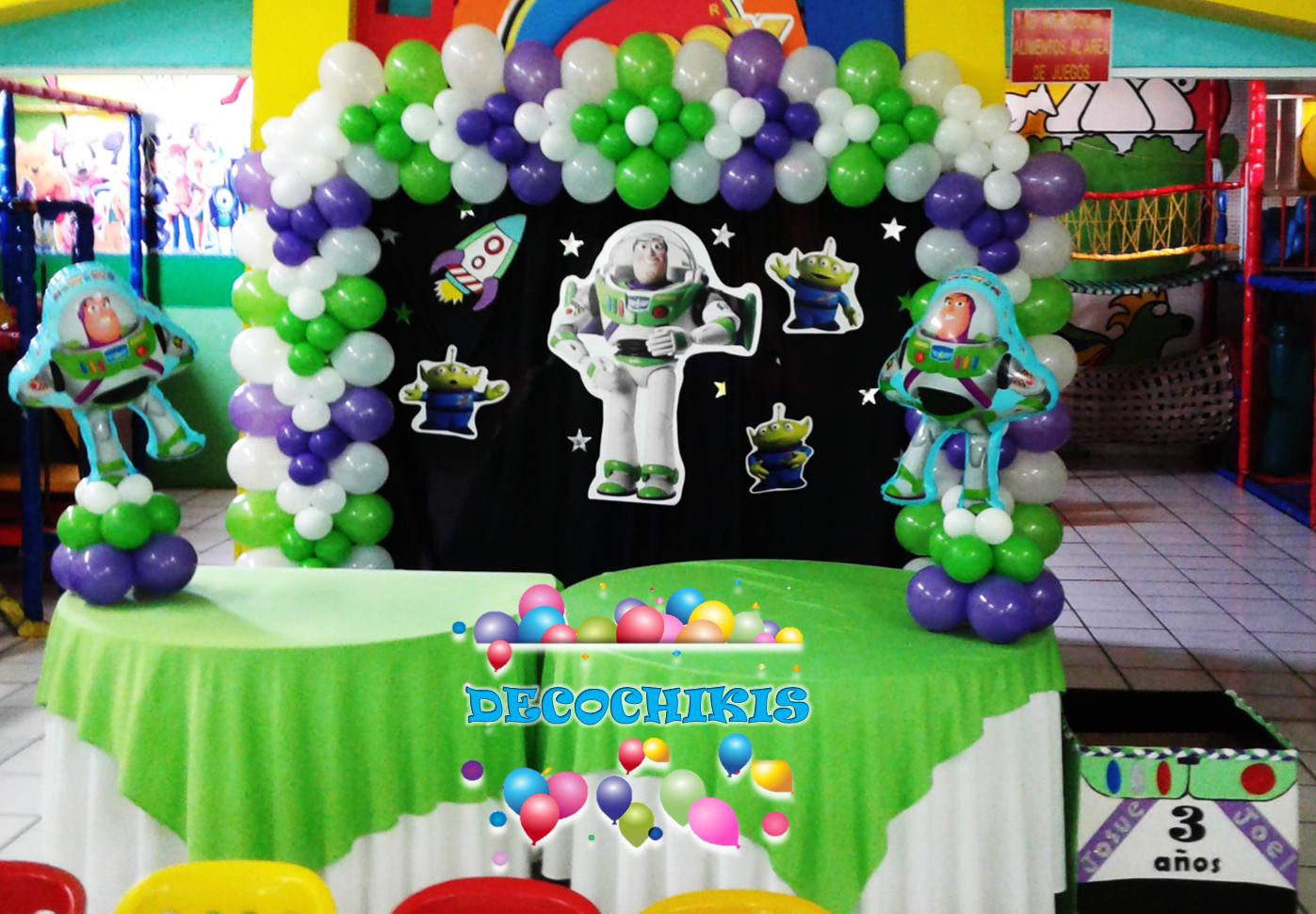 Buzz Lightyear Party Decoration Fiesta De Toy Story