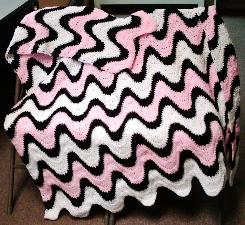 Looking for crocheting project inspiration check out exaggerated 3 color exaggerated ripple afghan throw crochet pattern in crafts needlecrafts yarn crocheting knitting patterns contemporary bankloansurffo Images