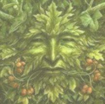 Ich habe einige Green Man-Wandbehänge gemacht, aber ich würde gerne einen auf ... -