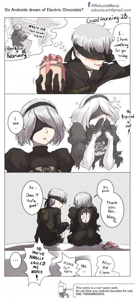 Late White Valentines For Nier Automata Fans With Images Nier