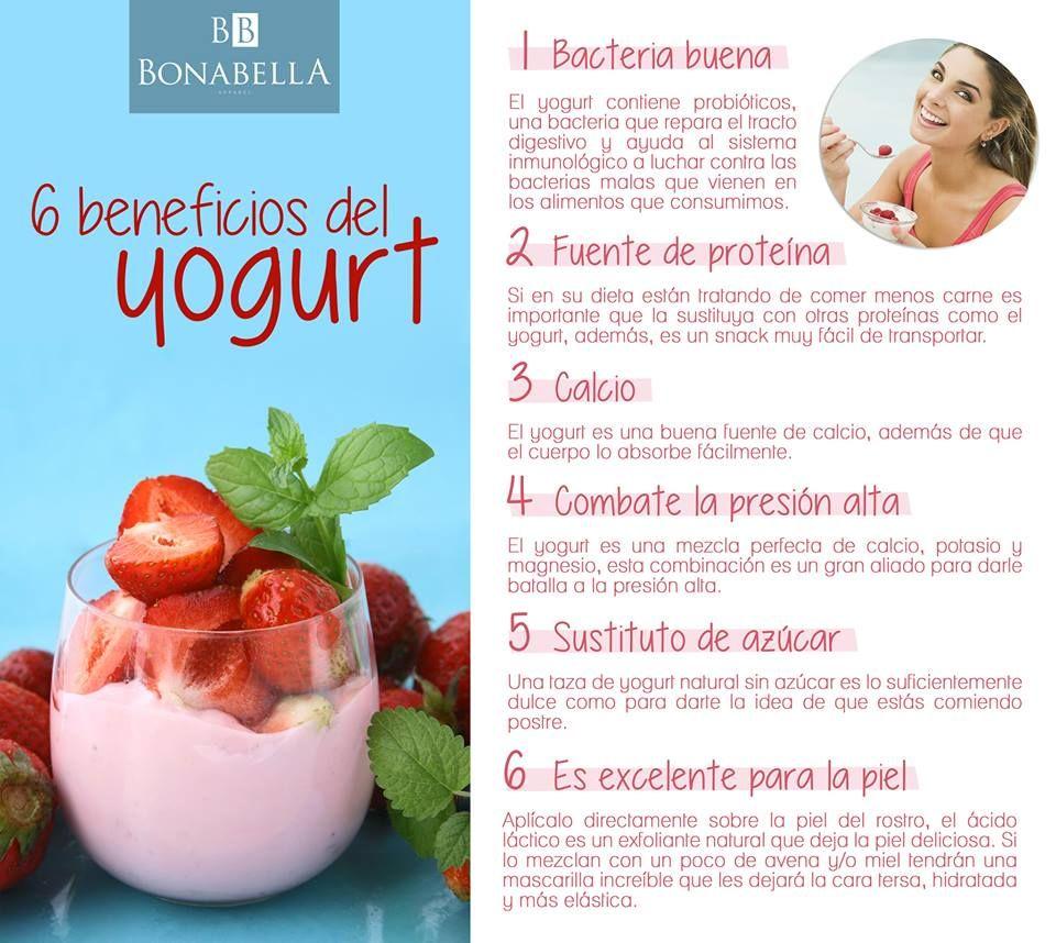 ¿cuáles son las propiedades y beneficios del yogurt