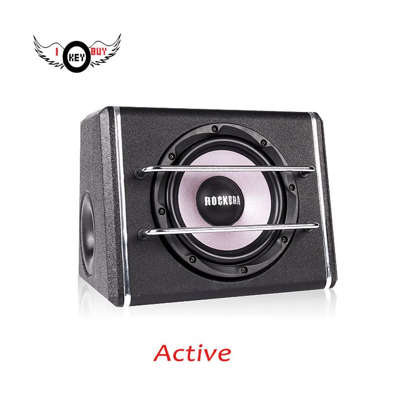 Powerful 8 Inch 12v Car Audio Acoustic Portable Active