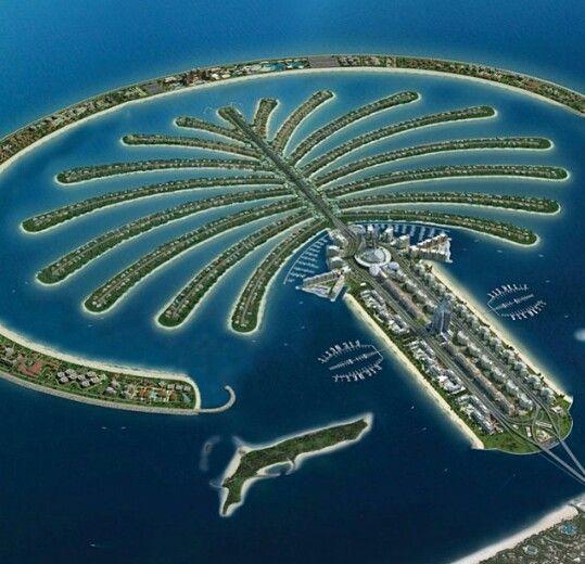 Palm Tree Island: Dubai: Palm Tree Island Saudi Arabia