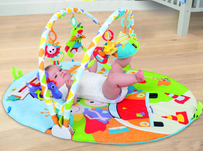 Alfombras de juego y gimnasio para beb/és mantas de actividades le/ón Regalo beb/é