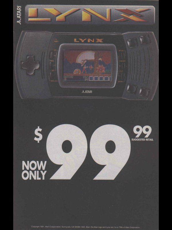 Least We Forget. #Atari #Lynx