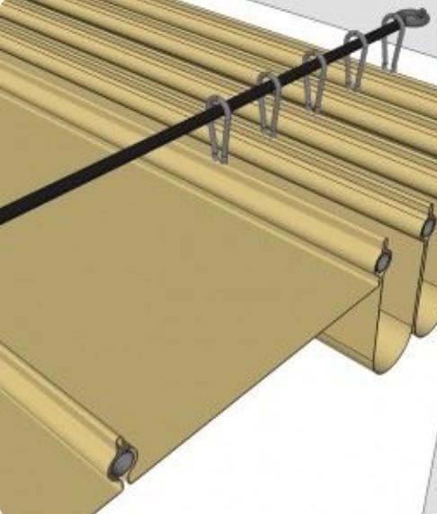 Pin de joyas costa oriental en terraza techos para - Cortinas para tragaluz ...