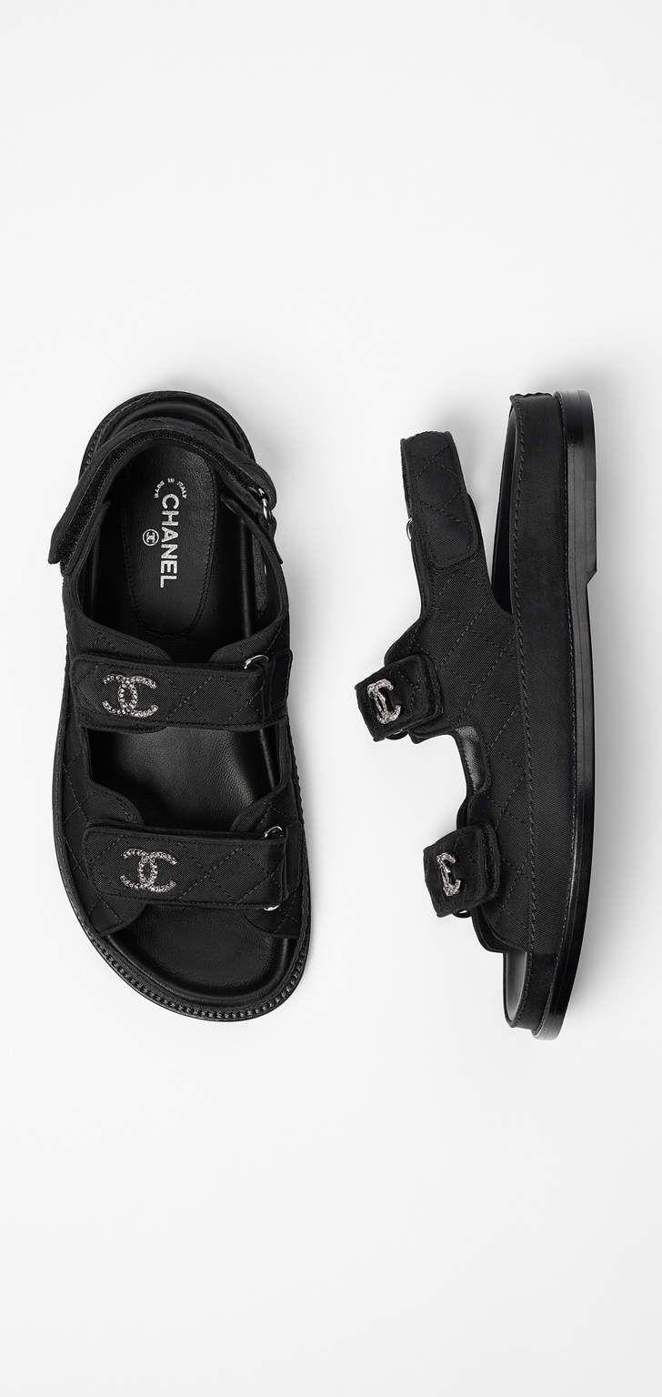 Black sandals ultima online - Spring Summer 2017 Pre Collection Grosgrain Black