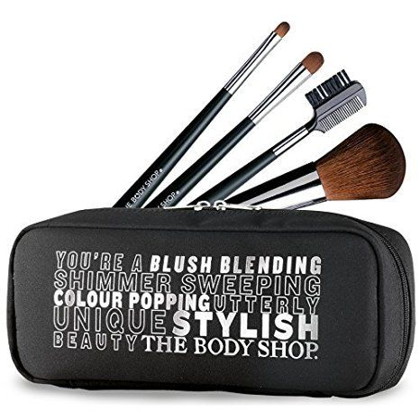 the body shop makeup brush set  read more reviews of