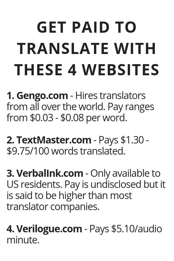 Get Paid To Translate With These 4 Websites