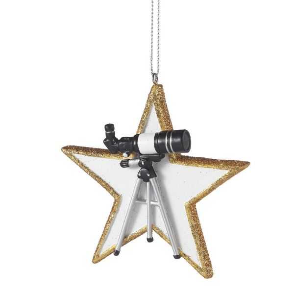 Telescope Christmas Ornament | Christmas Ornaments All Year Long ...