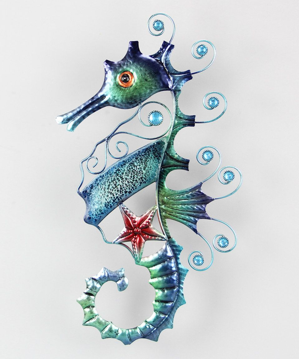 Another Great Find On Zulily Mosaic Seahorse Wall Art By Young S Zulilyfinds Seahorse Wall Art Horse Wall Art Seahorse Art