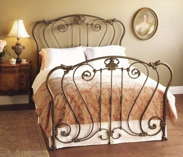 Guest Bedroom With Images Bed Furniture Design Wrought Iron