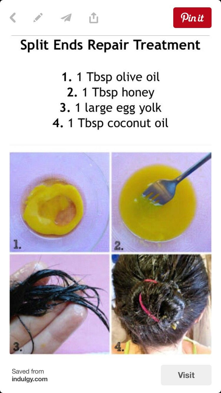 Pin by Vega on Remedies (With images) Split ends