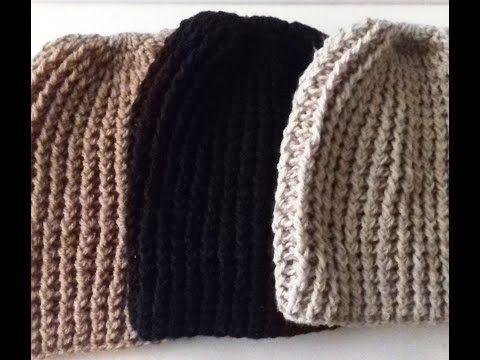 Aprenda A Fazer Um Gorro De Inverno Com Crochet Facil Para