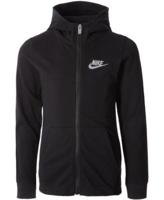 e85d10a567 Nike Toddler Boys Zip-Up Cotton Hoodie - Black 2T in 2019 | Products ...