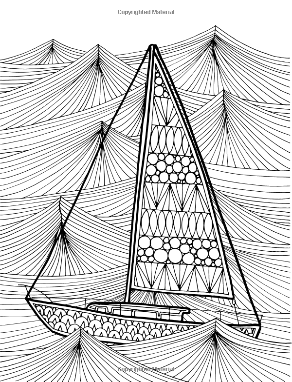 Amazon Oceans An Adult Coloring Book By Kristina Carter 9781519692481