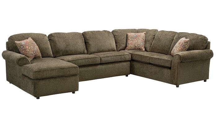 Slumberland Furniture Burke Collection Basil 3 Pc Sectional