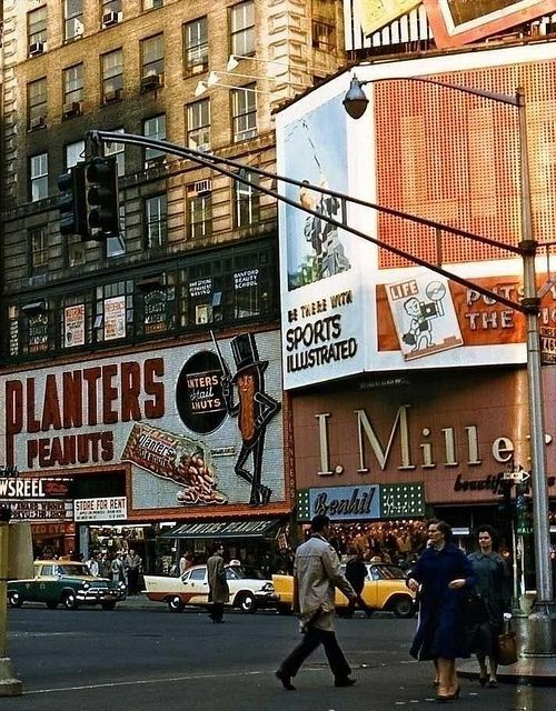 fuckyeahvintage-retro: New York City, 1959