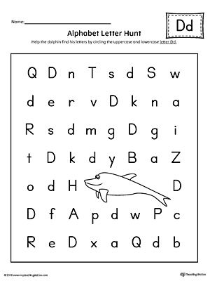 alphabet letter hunt letter d worksheet alphabet letters letter d worksheet alphabet. Black Bedroom Furniture Sets. Home Design Ideas