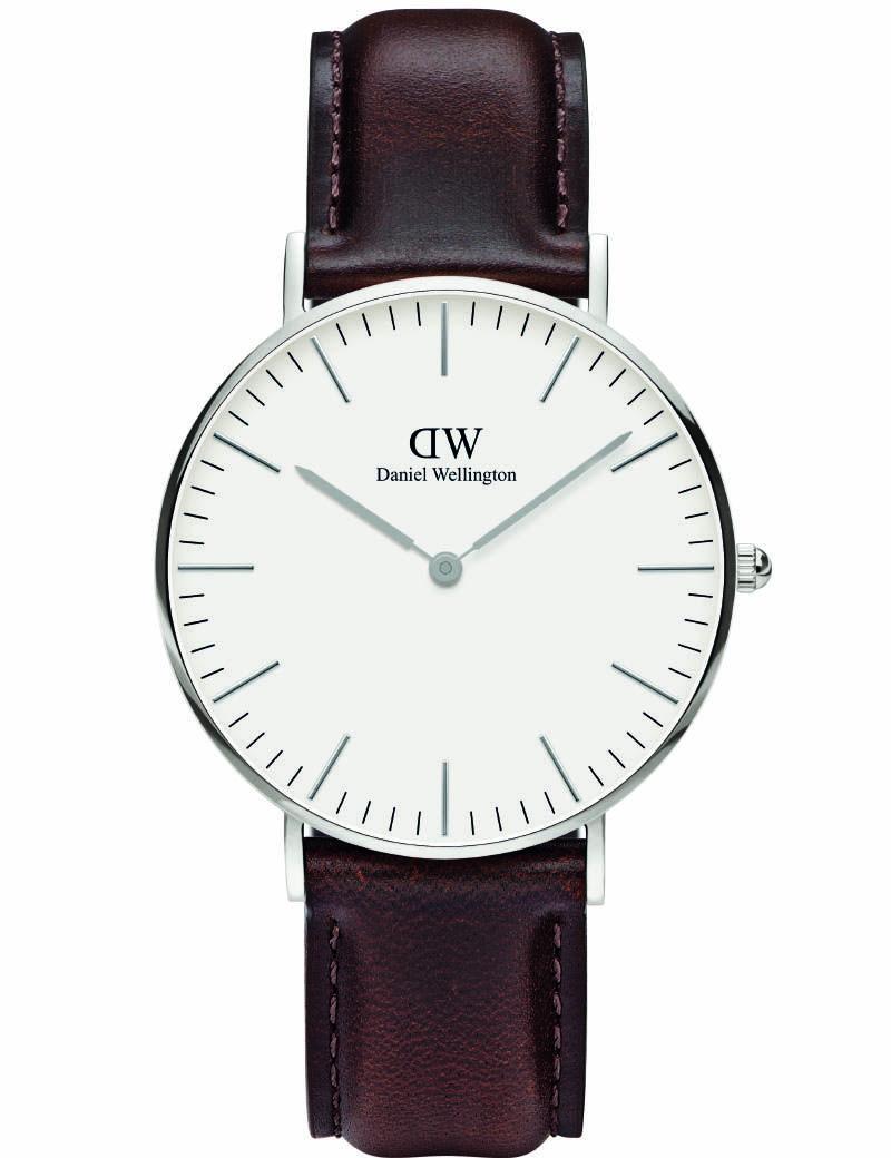 2a4f104da100fc Daniel Wellington Unisex Classic Oxford Rose Gold Blue Red - First Class  Watches™