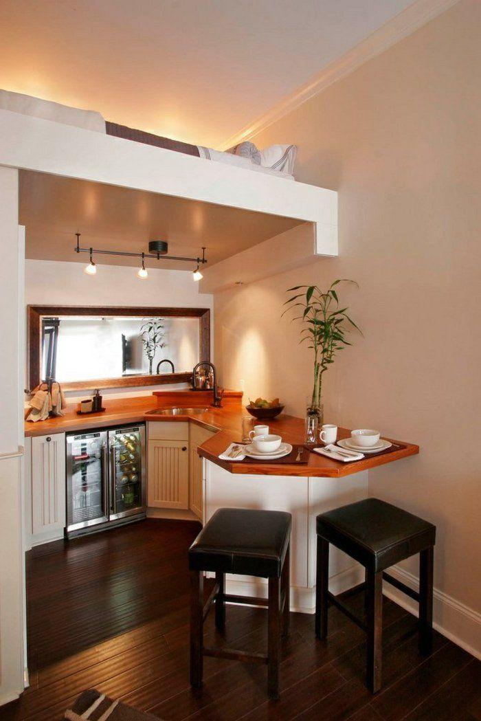 Comment am nager une petite cuisine id es en photos - Comment amenager sa cuisine ouverte ...