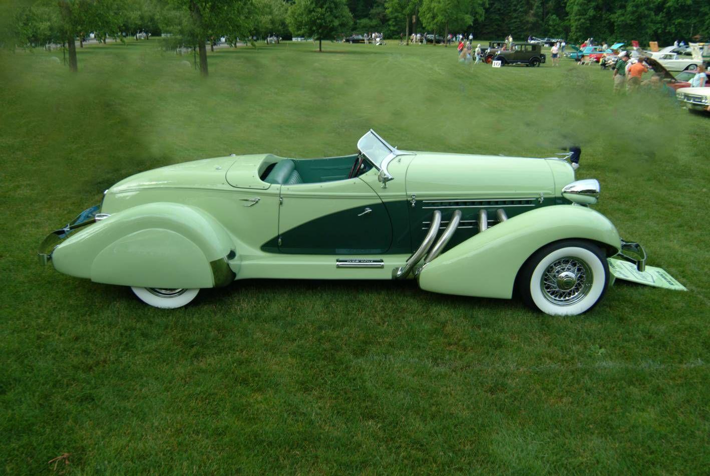1936 Auburn Boat-Tail