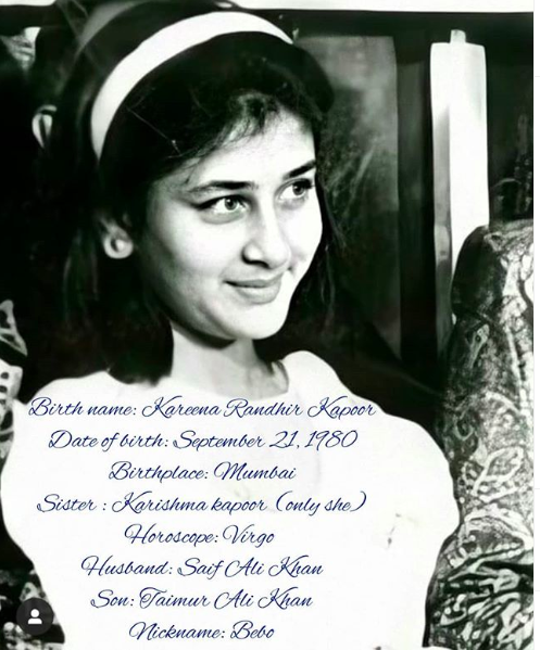Biography Of Kareena Kapoor Khan With Latest Facts Kareena Kapoor Biography Kareena Kapoor Kareena Kapoor Khan