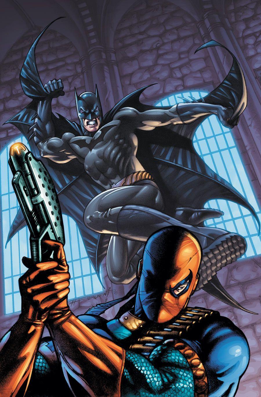 Daredevil Vs Deathstroke Batman vs Deathstroke ...