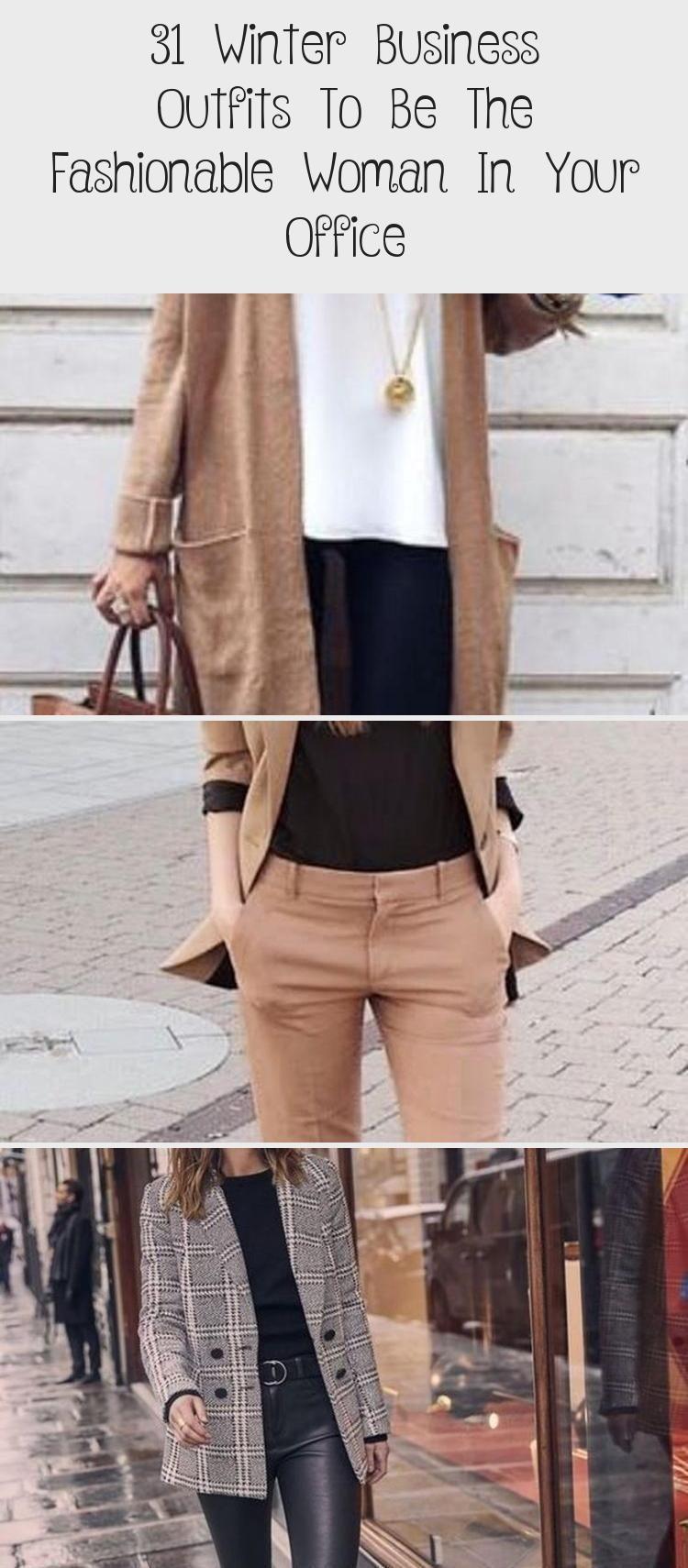 31 Business-Outfits für den Winter als modische Frau in Ihrem Büro – Sky's Blog