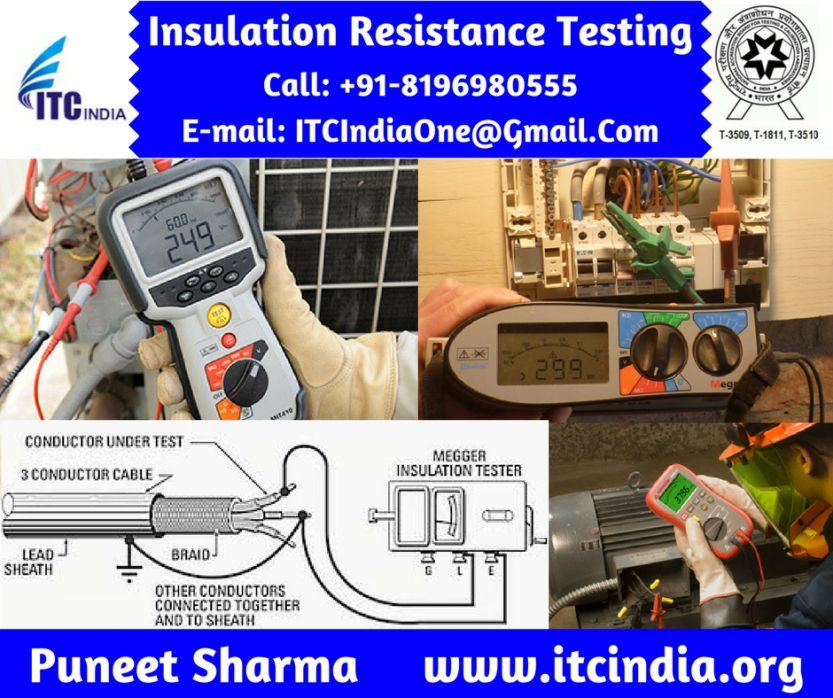 Insulation Resistance Testing Insulation Resistance Test