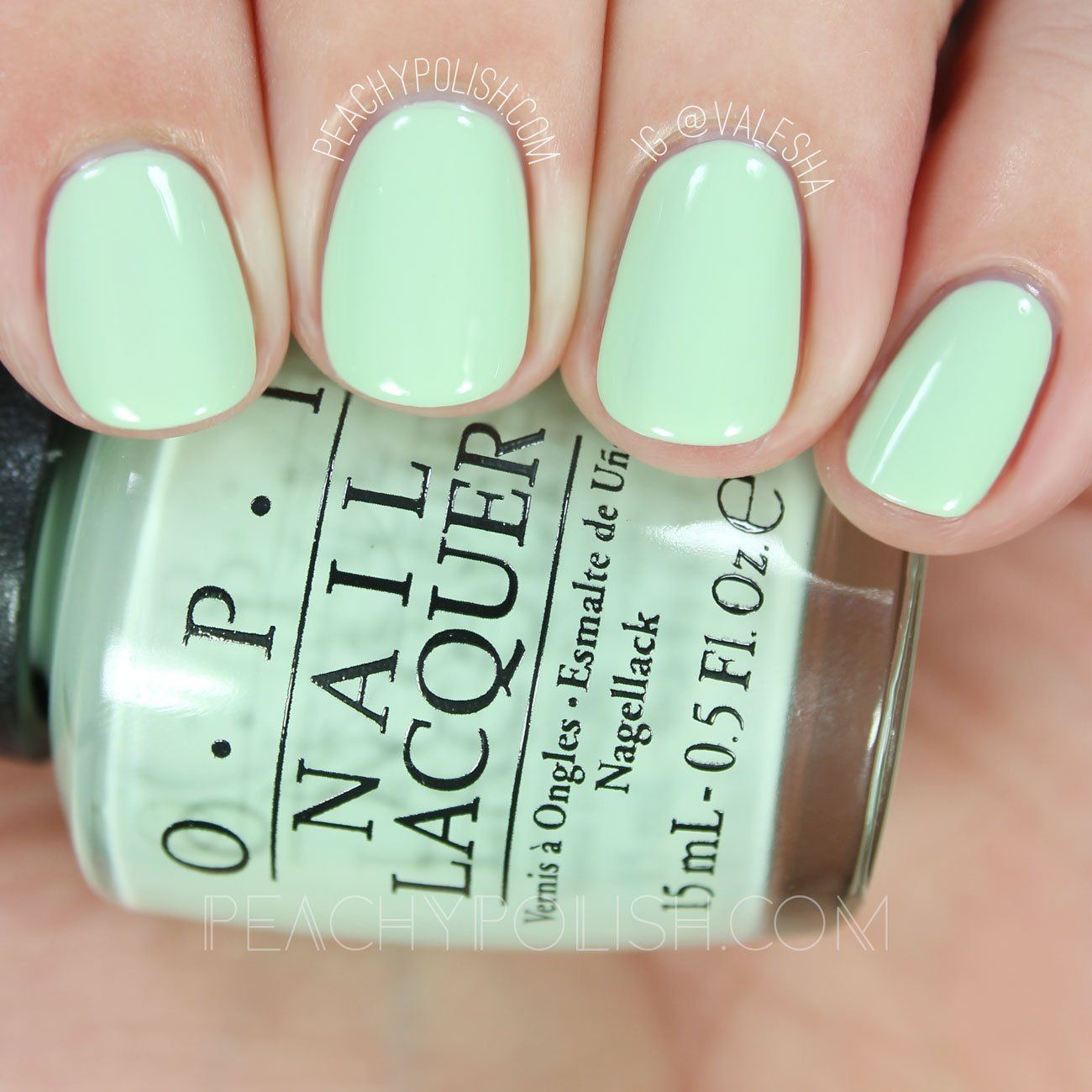 OPI This Cost Me A Mint | Spring 2016 SoftShades Collection | Peachy ...
