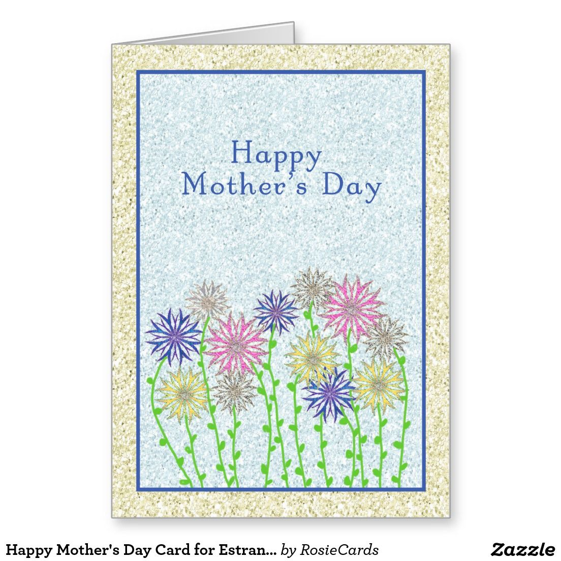 Beautiful postcard to Mothers Day with your hands on the 2015 Competition, a card for your mothers day with your own hands