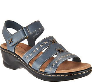 480507821e4 Clarks Leather Lightweight Sandals - Lexi Evelyn