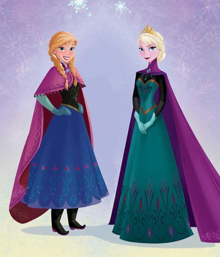 D bat pour ou contre une le elsa en tenue de c r monie et - Robe de anna reine des neiges ...