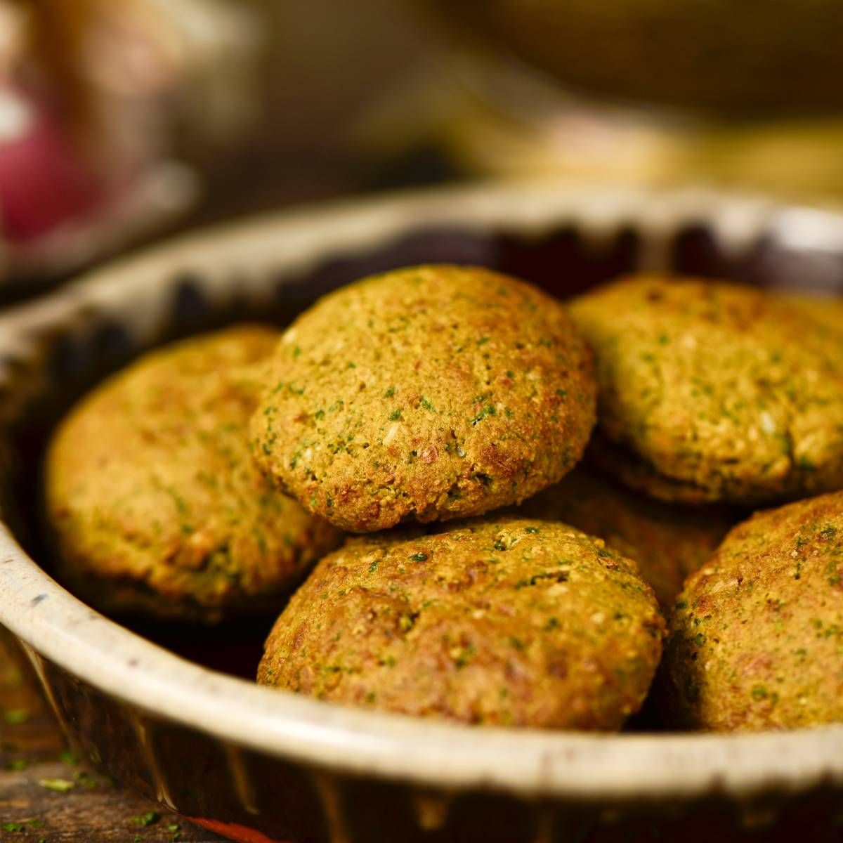 Tamiya Egyptian Fava Bean Fritters Recipe Recipe In 2021 Egyptian Food Recipes Fava Beans Recipes