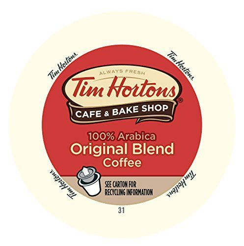 Tim Horton's Single Serve Coffee Cups, Original Blend, 12 Count (Pack of 6) - http://teacoffeestore.com/tim-hortons-single-serve-coffee-cups-original-blend-12-count-pack-of-6/