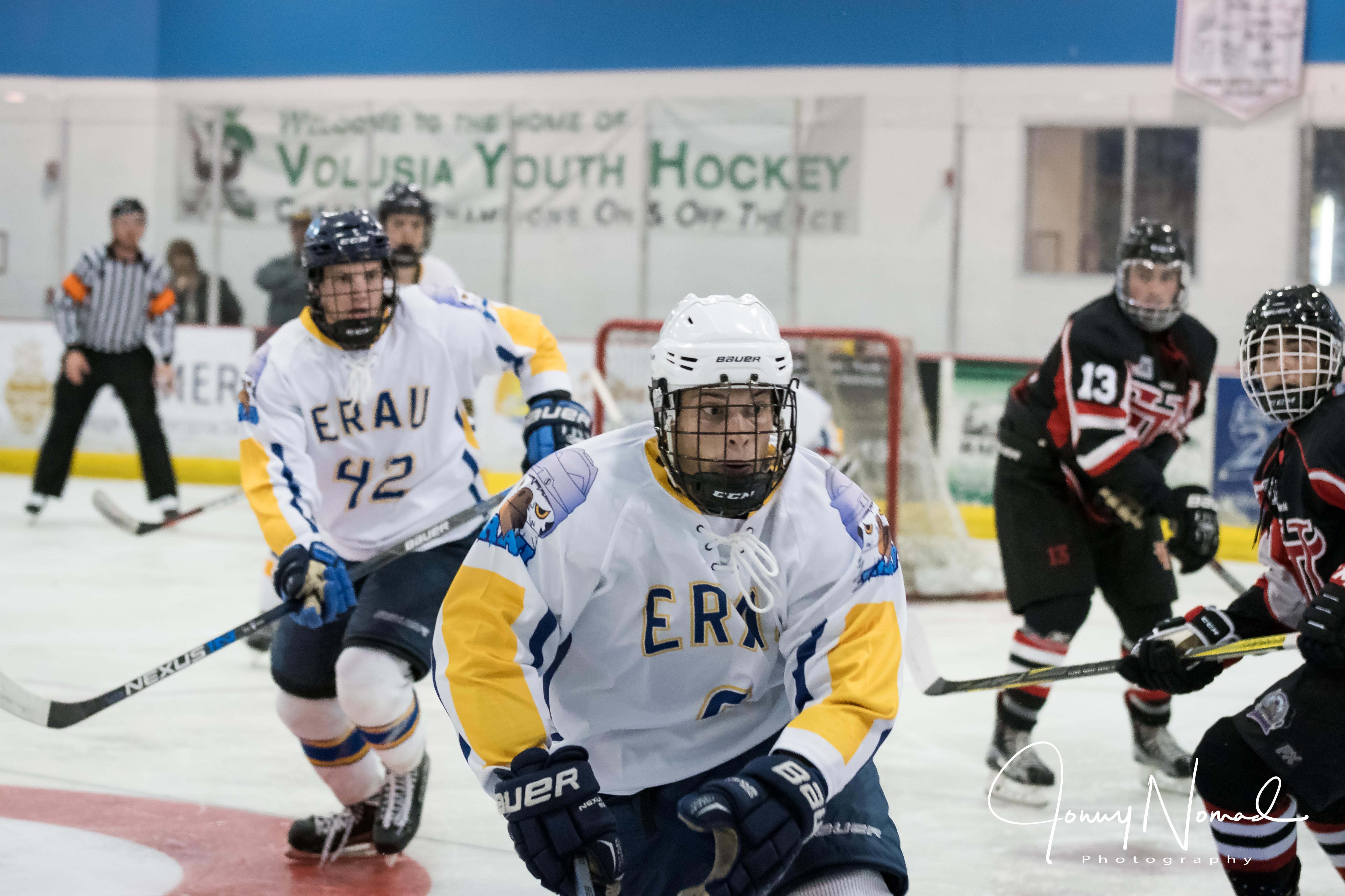Pin By Jonny Nomad Media On Embry Riddle Eagles Ice Hockey Youth Hockey Ice Hockey Hockey