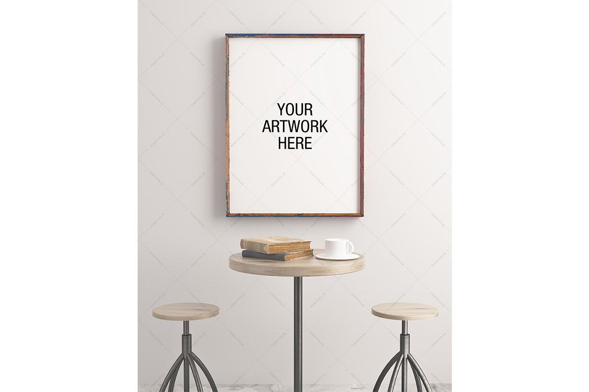 Frame Mockup / Poster Frame Photography Style / Blank canvas ...
