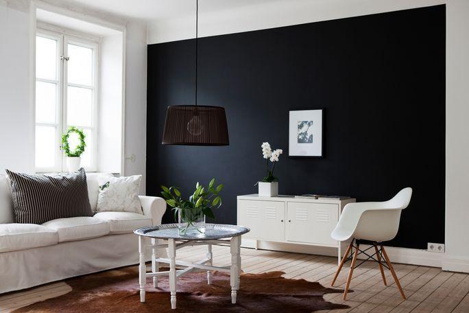 peindre en blocs de couleurs force rustique et le style. Black Bedroom Furniture Sets. Home Design Ideas