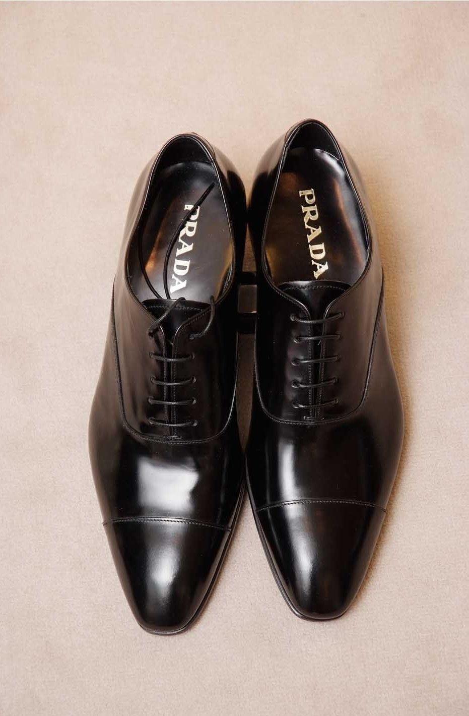 bajo precio 863bc 86191 Zapatos Prada cordones | Caballero en 2019 | Zapatos prada ...