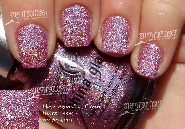 {1} China Glaze How About A Tumble Nail Polish