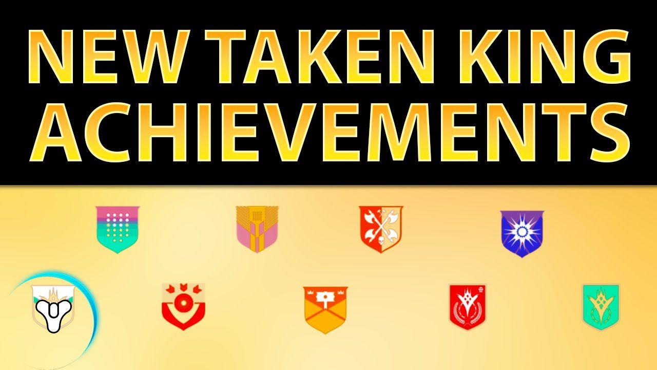 Planet Destiny: New Taken King Achievements/Trophies Revealed!