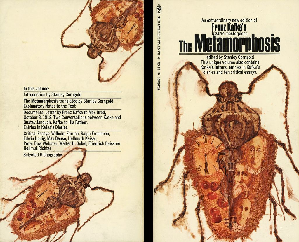 literary structure of franz kafkas metamorphosis The metamorphosis by: franz kafka the metamorphosis is a novella franz kafka that was first published in 1915 get a copy of the metamorphosis at bncom.