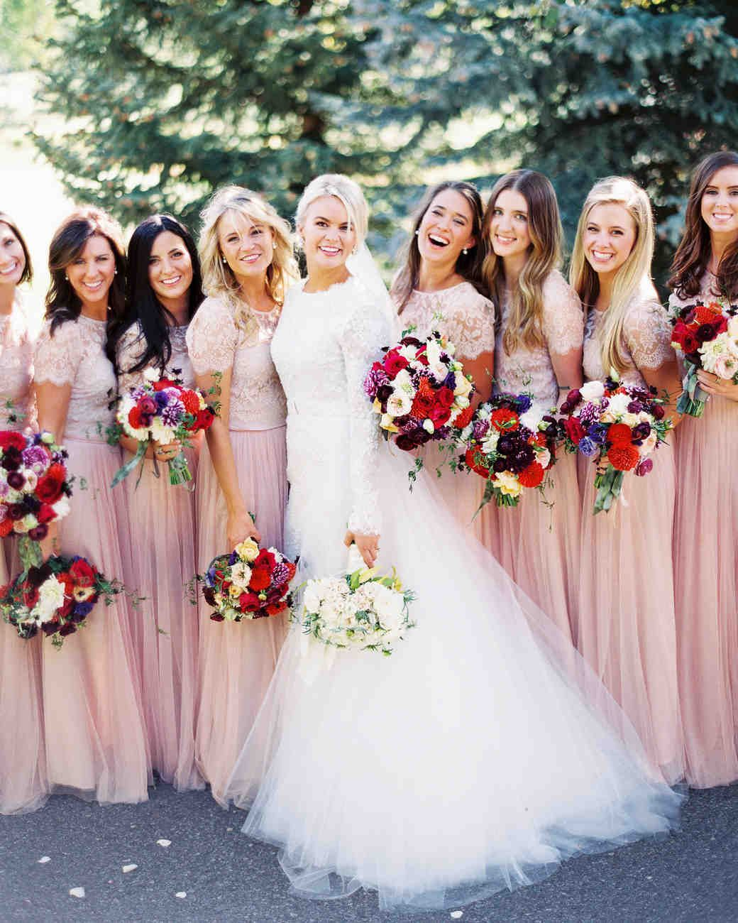pretty wedding hairstyles for your bridesmaids | bridesmaid