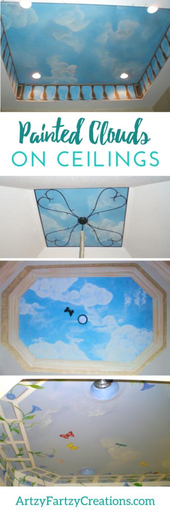 Painted Clouds on Ceilings & Walls Cheryl Phan