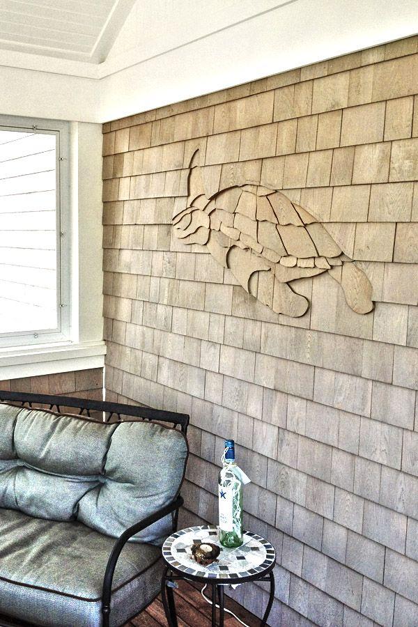 Best Turtle Shingle Design Installation Subtle Yet Really Cool 400 x 300