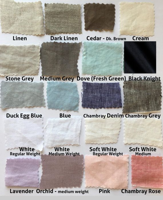 Linen fabric samples READY TO SHIP  Softened linen fabric  100/% natural linen  eco friendly