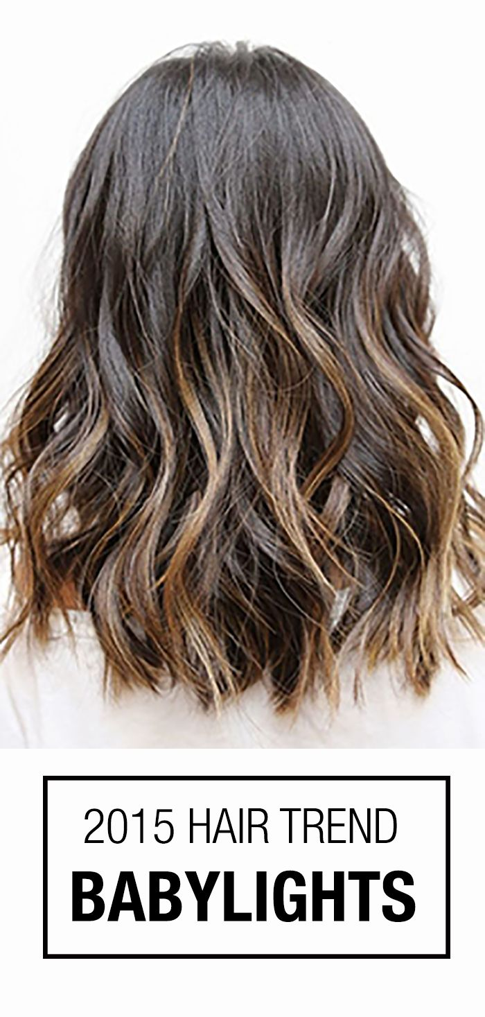 Babylights the perfect hair color idea for brunettes blondes or
