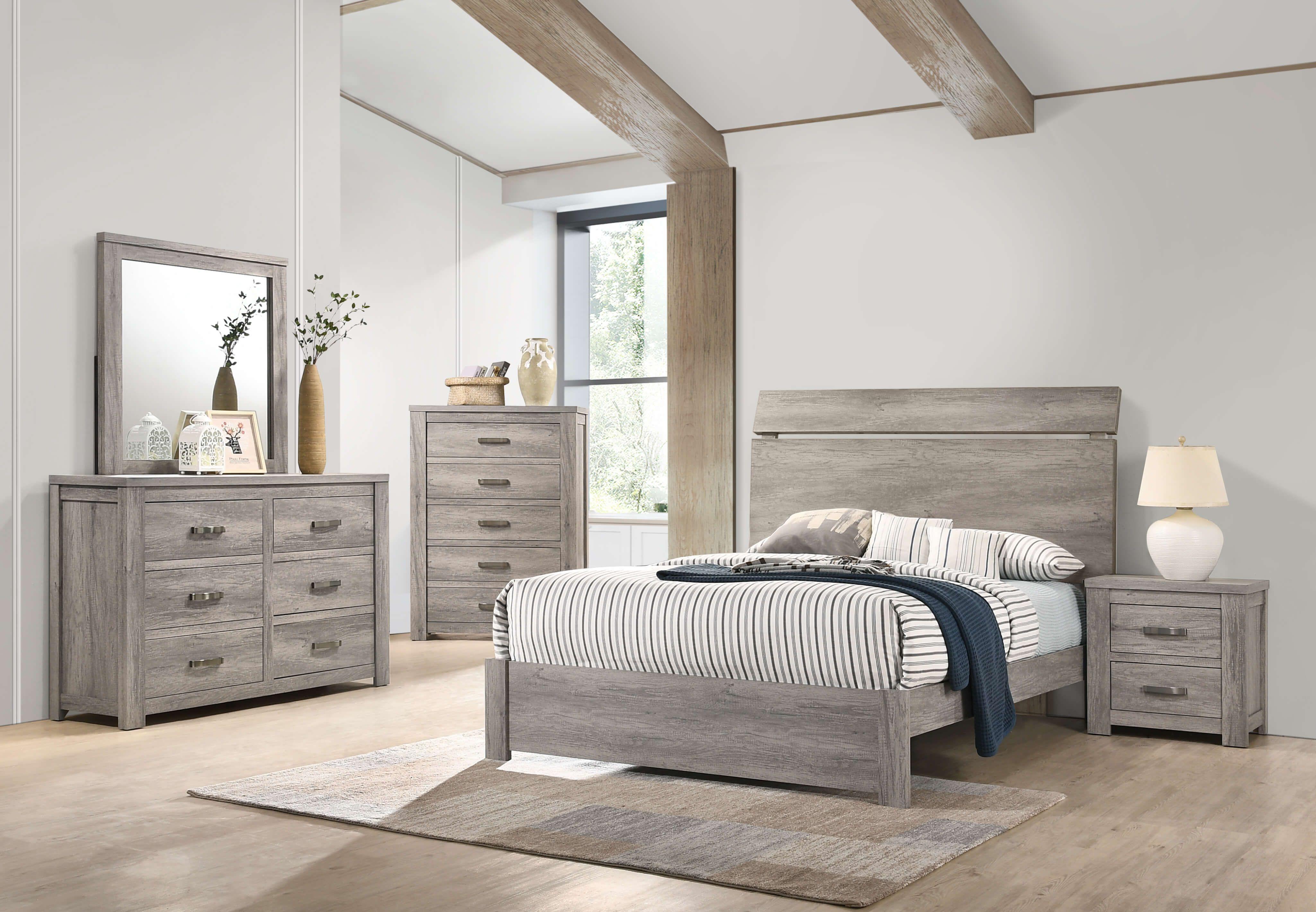Ashby Bedroom Collection Furniture, Modern room, Bedroom